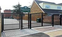 School fencing in Essex
